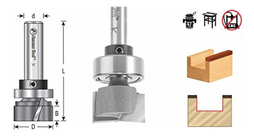 amana tool herramienta - 45565 carburo con