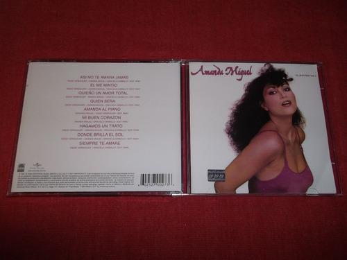 amanda miguel - el sonido vol.1 cd nac ed 2009 mdisk