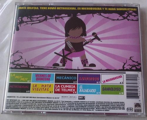 amandititita la reina de la anarcumbia cd 1a ed 2008 c/ book