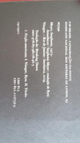 amanhecer - stephenie meyer - 2009 - intrinseca