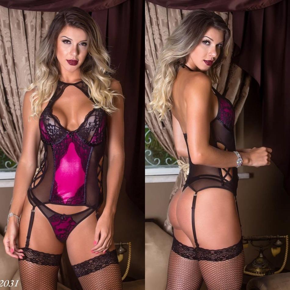 5669fe2d7 amante angel lingerie sexy espartilho corselet corpete noiva. Carregando  zoom.