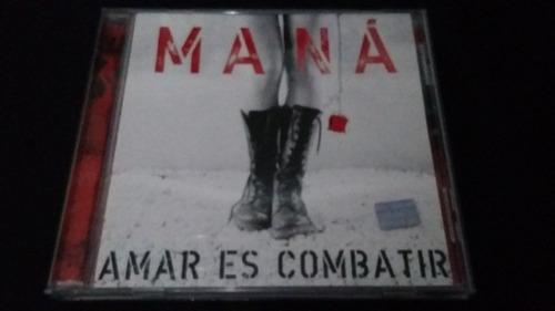 amar es combatir mana cd rock