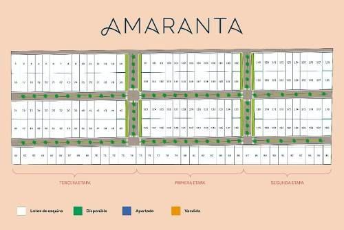 amaranta - lotes residenciales con servicios en conkal