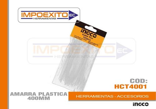 amarra plastica 400mm impoexito herramientas