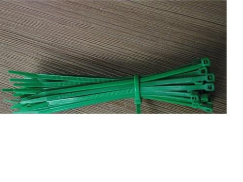 amarracables 25cm  x 4 mm - color turquesa 100u