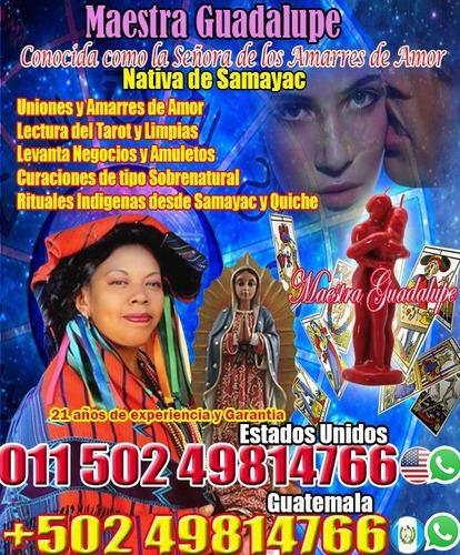 amarres de amor guía espiritual guadalupe de samayac