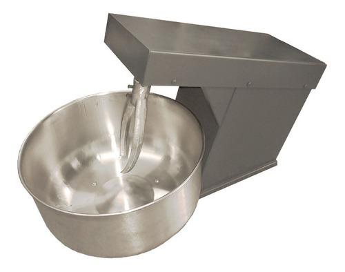 amasadora industrial 10 kg harina bowl acero 1/2 hp 220 volt