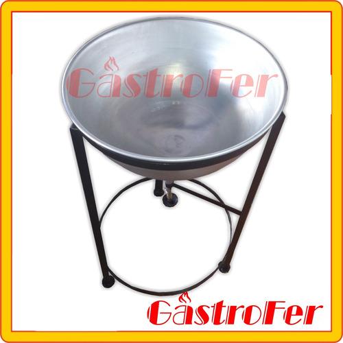 amasadora térmica manual 8 lts para churros masa churrera