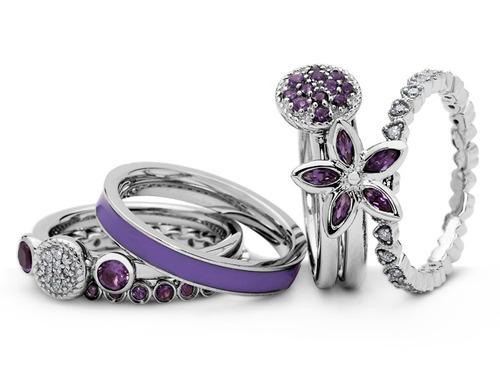 amatista anillo plata