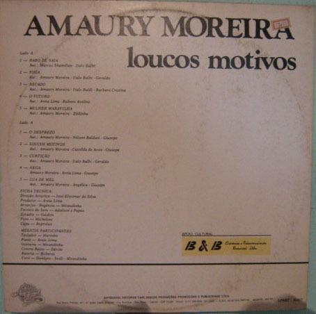 amaury moreira - loucos motivos - 1986