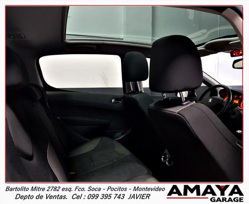amaya garage peugeot 308 1.4 premium año 2012 impecable!!!