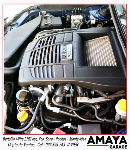 amaya garage subaru impreza wrx 2.0 6mt unico en su estado!!