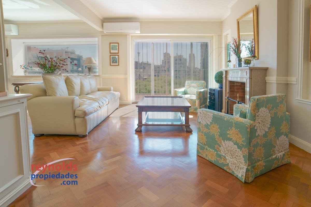 amazing 10th floor, with terrace, 2 bedrooms and lovely view over  vicente lópez square .
