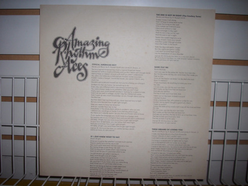 amazing rhythm aces - too stuffed to jump lp en mb estado