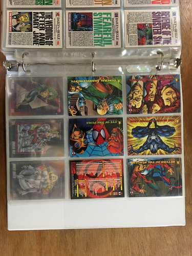amazing spiderman 1994 fleer coleccion de tarjetas marvel
