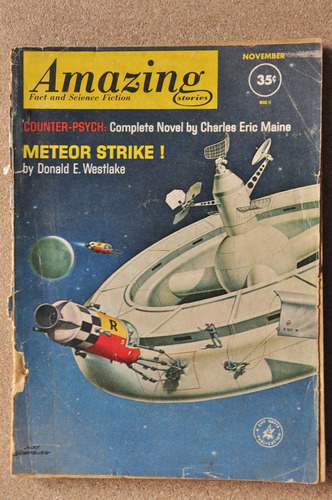 amazing stories fact and science fiction - en ingles - b60