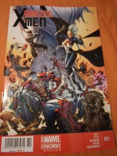 amazing x-men marvel now comics!!!! completa