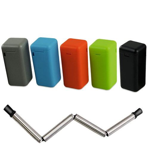 amazingforless straws plegables reutilizables