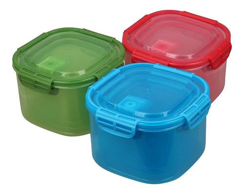 amazix 18 piezas de contenedores de alimentos + envio gratis