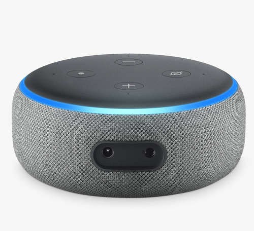 amazon alexa echo dot (3ra generación) heather grey
