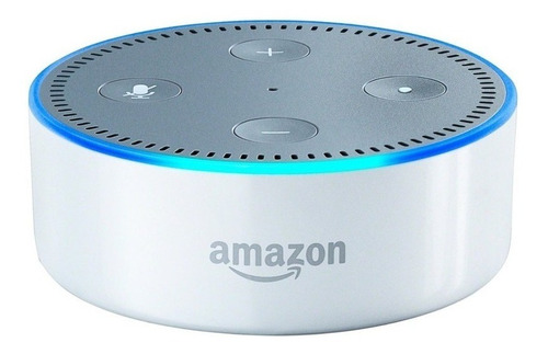 amazon echo dot 2 generación asistente  de voz alexa blanco