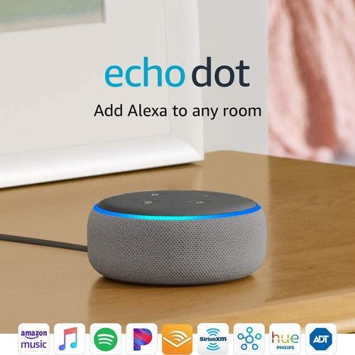amazon echo dot (3 gen) / parlante inteligente bluetooth