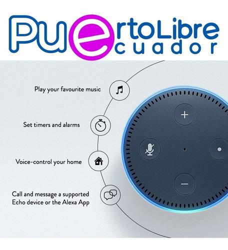 amazon echo dot = googl home mini parlante inteligente x voz