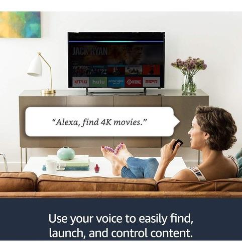 amazon fire tv 4k 2019 ultima generación alexa smarttv promo