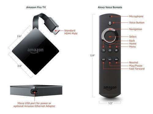 amazon fire tv 4k ultra hd  alexa  ultima 3 generacion 2020