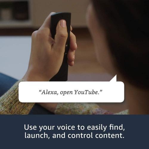 amazon fire tv, control de voz alexa