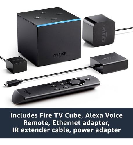 amazon fire tv cube stream media a pedido!