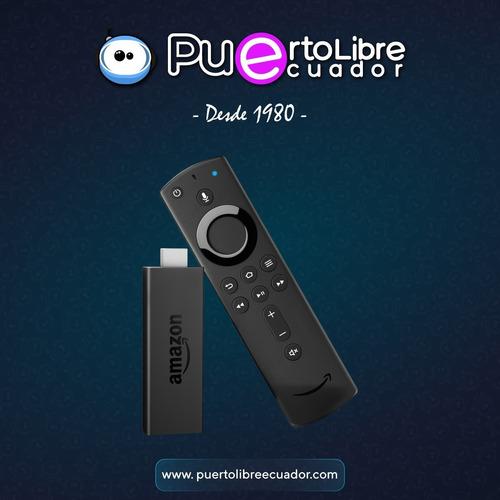 amazon fire tv stick 4k alexa conviert tv en smart n u e v o