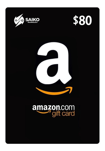 amazon gift card $80 / tarjeta de regalo