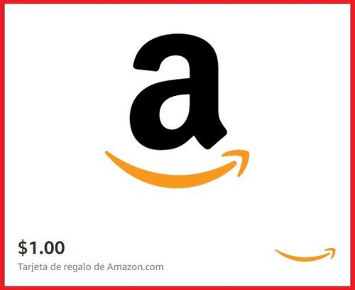 amazon gift card tarjeta regalo 1 usd envio inmediata email