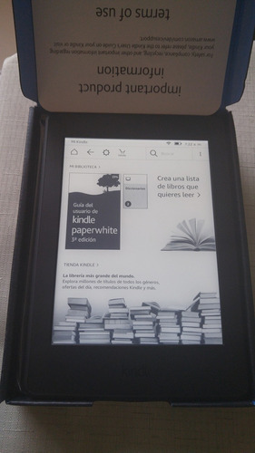 amazon kindle paperwhite 300ppi 7ma gen ocasion detalle