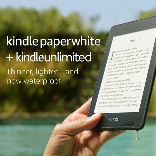 amazon kindle paperwhite luz wifi ereader 8gb 10 gen evotech