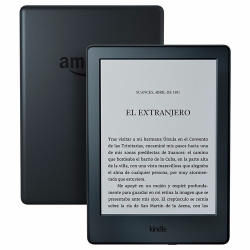 amazon kindle touch 8th 4gb e-reader e-book wifi new modelo