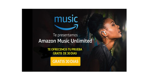 amazon music- pruebalo gratis- musica +50 millones canciones