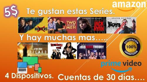 amazon prime series y videos.