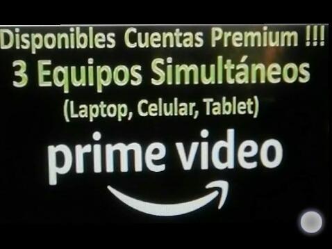 amazon (prime video) ¿ oferta