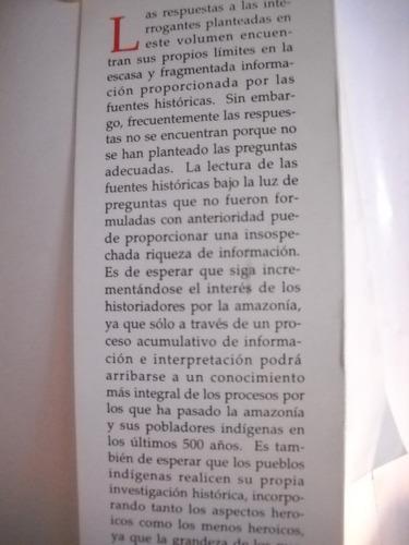 amazonas. opresion colonial resistencia indigena. f santos