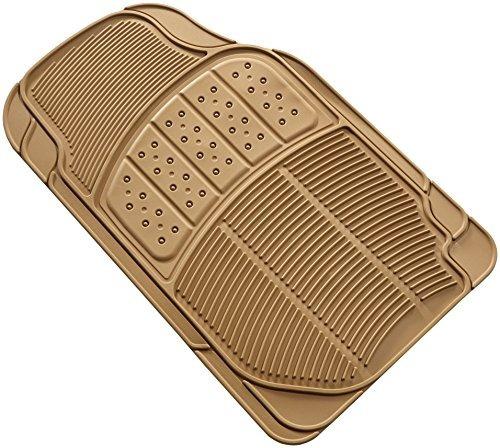 amazonbasics  3 pieza piso mat 3 piezas beige