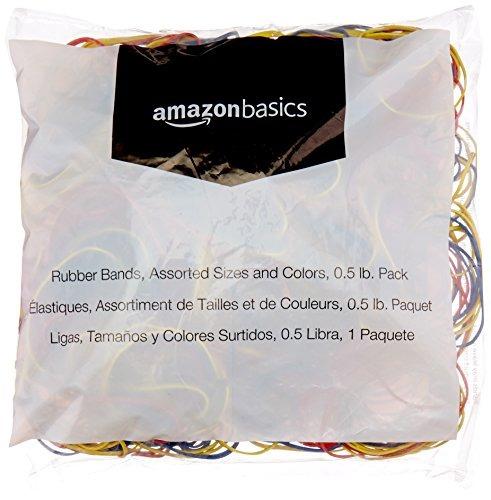 amazonbasics bandas de goma variados