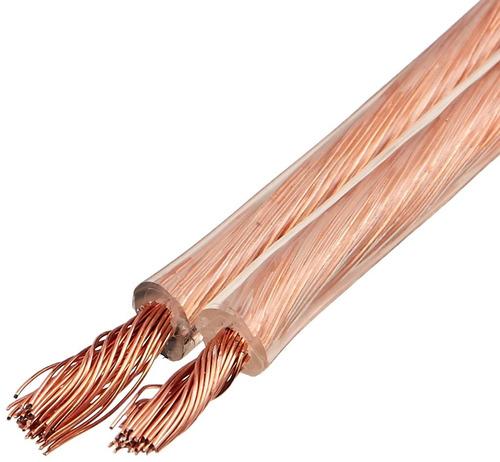 amazonbasics - cable de altavoz de 14-gauge - 100 pies