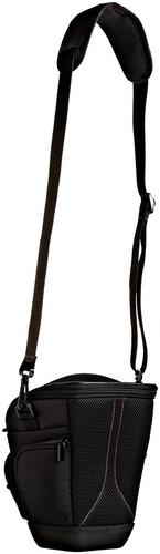 amazonbasics-funda funda para cámara réflex, de color negro