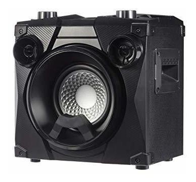 amazonbasics party speaker altavoz inalambrico pa con luces,