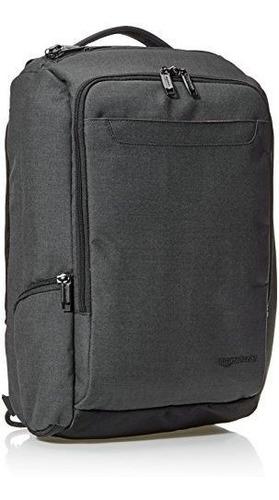 amazonbasics slim carry on mochila negro