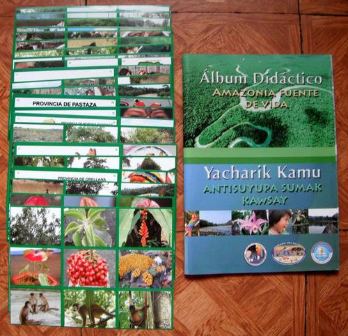 amazonia fuente de vida album didactico ecuador 2007