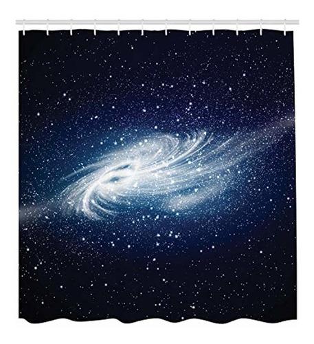 ambesonne juego de cortinas ducha space decorations,