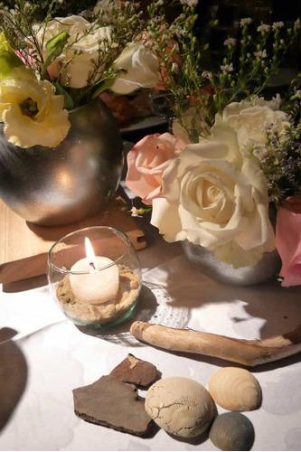 ambientacion eventos boda flores centros mesa novias ramos